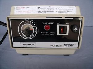 Gaymar T pump Hot Water Therapy Pump Tp 200 H10