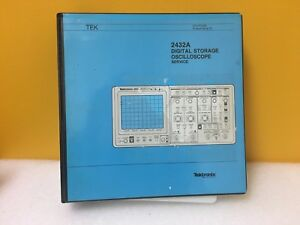 Tektronix 070 7273 00 2432a Digital Storage Oscilloscope Service