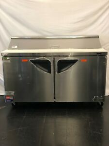 open Box Turbo Air Tst 60sd 60 Two Section Sandwich Salad Prep Table