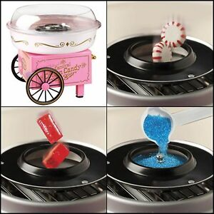 Nostalgia Electrics Vintage Collection Hard And Sugar Free Cotton Candy Maker