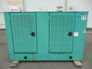 Onan Cummins 47kw Standby Lp Generator Ford V 6 120 240v Single Phase Unit 113