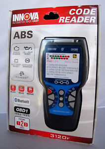 Innova 3120f Code Reader Scan Tool With Abs And Bluetooth Obd1