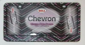 Chevron Bell 46538 8 Accessories Accent License Plate Frame