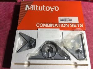 new Mexico Made Mitutoyo 12 Inch Combination Square Set machinist Welding 2