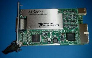 Ni Pxi 6289 32ch 18 bit High Resolution M series National Instruments tested
