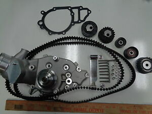 Porsche 944s Water Pump With Timing And Balance Belt And All Rollers All New