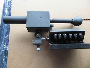 Micro Optical Pyrometer Scope Pyro With 6 Lens Good Condition