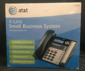 At t Small Business Phone System Att1040 4 line 1040