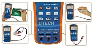Th2822a Inductance Capacitance 100 10khz Lcr Rcl Lc Meter Usb