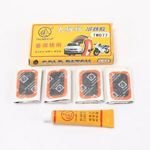 Tire Repair Tool Rubber Inner Tube Patch Stick With Glue For Car Mowers Bicycle