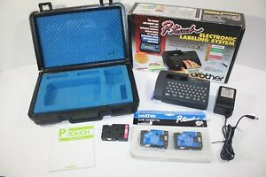 Brother P touch Pt 15 Electronic Labeling System With Case Charger