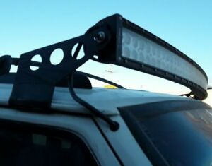 Jeep Cherokee Xj Mj 84 01 52 Led Light Bar Mounting Bracket Free Shipping
