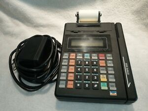 Hypercom Credit Card Machine With Power Supply