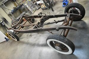 1932 Ford Original V8 Chassis W Matching Title Henry Hot Rod