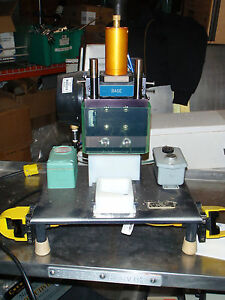 Pneumatic Press With Plc Control Osha Ready