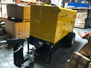 Brand New 2018 Supermaly Perkins 40kw 50kva Turbo Diesel Generator With Trailer