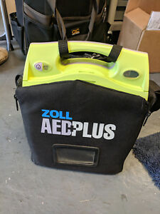 Zoll Aed Plus Biomed Tested With 2 New Pads Batteries And Carry Case