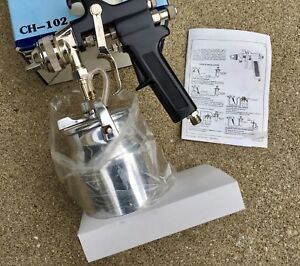 King Aire Air Spray Paint Spray Gun Canister Use W 1 1 2 Hp Compressor new
