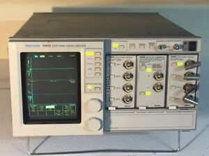 Tektronix 11403 Color Digitizing Oscilloscope 11a32 4 Channels 11a33 Comparator