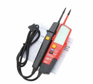 Uni t Ut18d Auto Range Voltage And Continuity Tester With Lcd Backlight Date New