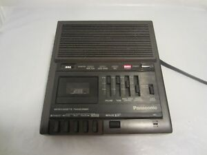 Panasonic Rr930 Microcassette Transcriber With Foot Pedal Rp 2692