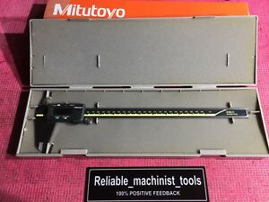 Carbide Od Id Jaws Mitutoyo Japan Made 12 In Absolute Digital Caliper