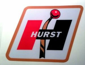Hurst Shifter Sticker Decal Hot Rod Vintage Look Nostalgia Drag Racing