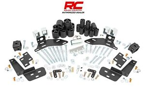95 98 Chevrolet Gmc 1500 2500 Pickup Gas 3 Rough Country Body Lift Kit rc704