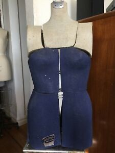 Sally Stitch Vintage 1950 s Mannequin Model Female Torso Dress Form