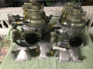 1957 Ford Thunderbird Dual 4 Barrel Carburetor Assembly