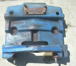 New Holland Ford 3930 Tractor Front Bolster E9nn3a042ab