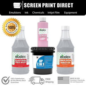 Plastisol Chemistry Kit For Screen Printing Removers Ink Degradent