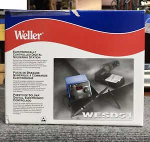 Weller wesd51 Electronically Controlled Digital Soldering Station nob