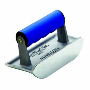 Bon 88 305 Cast Stainless Steel 6 inch By 4 12 inch Concrete Bullet Groover