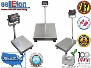 Op 915 Optima Ntep Legal For Trade Bench Scale Shipping Warehouse Digital