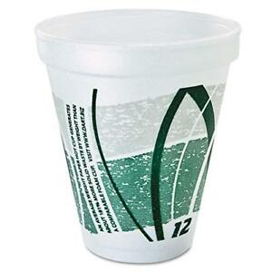 8 Ounce Insulated Styrofoam Cup For Hot Cold Beverages 1000 Pieces White