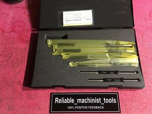 New Mitutoyo Outside Micrometer Standard Gages 6 To 11 Inch Machinist Tools