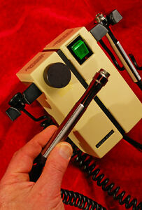 Welch Allyn Transformer Diagnostic Duo Handles 74710 For Otoscope Opthalmascope