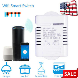 Wifi Wireless Switch Remote Control Ewelink Automation For Iphone Android Phone