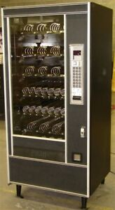 Automatic Products 6600 Snack Candy Vending Machine With Bill Unit Located In Wa