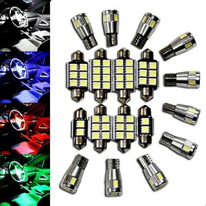 All Vw Ultimativ Led Interior Lighting Set Smd Blue Red White Pink Ligths