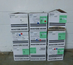 Boston Gear Right Angle Gear Reducers Lot Of 12 New In The Box