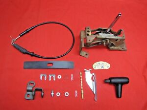 83 88 Monte Carlo Ss El Camino 350 Trans Floor Console Shifter Cable Assembly
