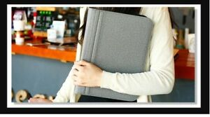 Business Document Pouch A4 Padfolio Briefcase Multi functional File Folder
