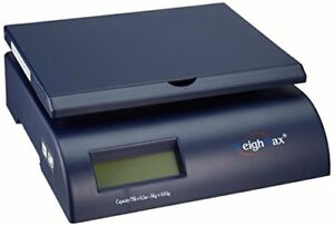 75lb Digital Postal Shipping Scale Package Weight Bench Pound Letter Mail Box