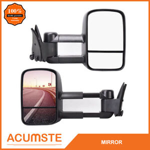Left right For 1988 1998 Chevy gmc C10 C k 1500 Pickup Truck Power Tow Mirrors