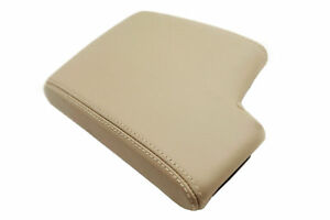 Fits 05 13 Bmw E90 Faux Leather Center Armrest Cover Beige