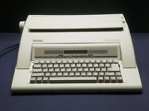 Vintage Royal Electric Typewriter Scriptor Ii Works Great