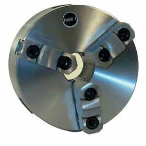 Phase Ii 559 008 8 3 Jaw Accu rite Adjustable Lathe Chuck For Super spacer