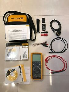 Fluke 289 Trms Multimeter Software Thermocouple Ir usb Cable